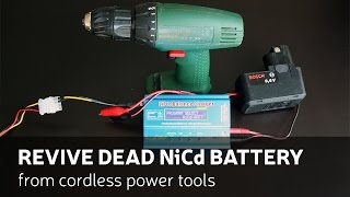 getlinkyoutube.com-How to revive dead NiCd battery from cordless power tools