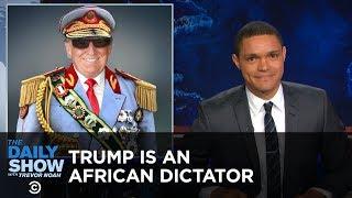 getlinkyoutube.com-Donald Trump - America's African President: The Daily Show