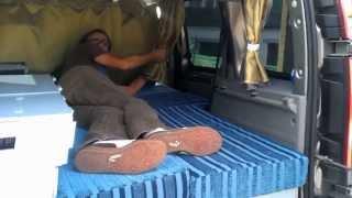getlinkyoutube.com-Renault kangoo camping car - camper van