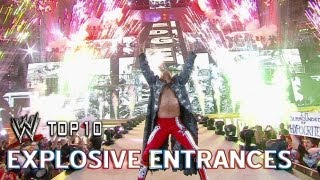 Explosive Entrances - WWE Top 10 - July 4th Edition width=