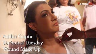 getlinkyoutube.com-Qubool Hai | Wound Make Up | Technical Tuesday