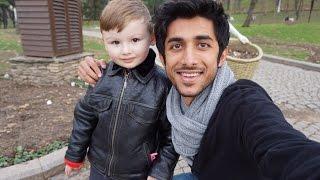 Who is this doll? منو هذا الدمية ؟ - Travel VLOG - Turkey 2015 (1/4)