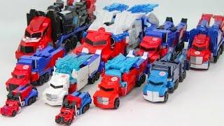 getlinkyoutube.com-Transformers RID Power Surge Optimus Prime Optimus Prime Truck Vehicle Transformation Robot Car Toys