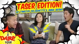 I Dare You: GETTING TASED! (ft. Timothy Delaghetto & Anna Akana)
