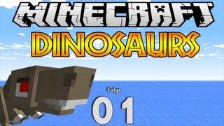 getlinkyoutube.com-Minecraft Dinosaurs: #001 Im Land der Dinosaurier [HD]