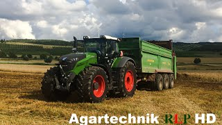 getlinkyoutube.com-FENDT 1050 Vario / 500 PS / Miststreuen