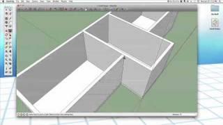 getlinkyoutube.com-Sketchup #25: Small House (Part 1 - Walls)