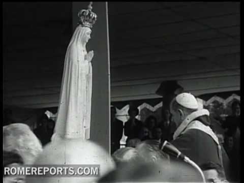 Paul VI  the first visit of a Pope to Fatima