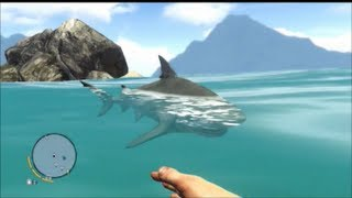 Far Cry 3 Funny Moments 5 - SHARK ATTACK!
