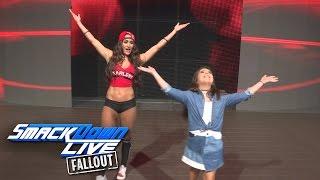 Nikki Bella helps Sophia Grace create her own WWE entrance: SmackDown LIVE Fallout, Dec. 6, 2016