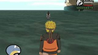 getlinkyoutube.com-Gta San Andreas Sasuke vs Naruto