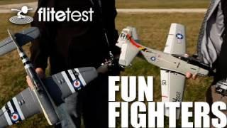 getlinkyoutube.com-Flite Test - Fun Fighters - REVIEW