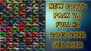getlinkyoutube.com-New Bootpack (81) Boots Full HD V.1 2015-2016 Pes 2013 Pc