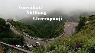 Trip to North-East // Guwahati, Shillong, Cherrapunji