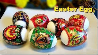 getlinkyoutube.com-How to Decorate Easter Eggs (Cara Menghias Telur Paskah)