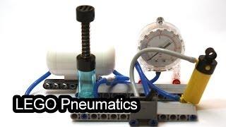 LEGO Pneumatic experiments