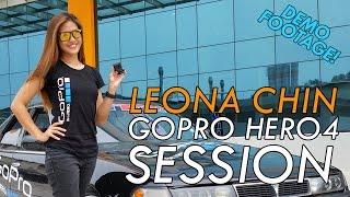 getlinkyoutube.com-GoPro HERO4 Session Demo Footage - Drift Karting by Leona Chin