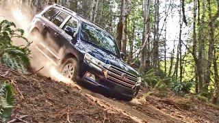 getlinkyoutube.com-► 2016 Toyota Land Cruiser - Offroad Driving