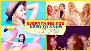 getlinkyoutube.com-Everything YOU Need to Know: PARTY by SNSD (Girls' Generation) Video l @Soshified