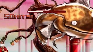 getlinkyoutube.com-Random Mugen Fights Episode 47: Dante & Silver Samurai vs. Namazu (Marvel vs. Touhou)