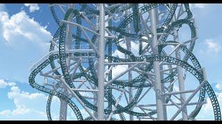 getlinkyoutube.com-PolerCoaster POV - Nolimits Coaster 2