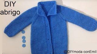 getlinkyoutube.com-Abrigo o chaqueta para bebé recién nacido