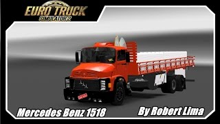getlinkyoutube.com-Mod Reviews--Mercedes Benz 1518 -- by Robert Lima  v1.16x