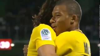 Kylian Mbappe First match for PSG vs FC METZ, Skills  and Goal