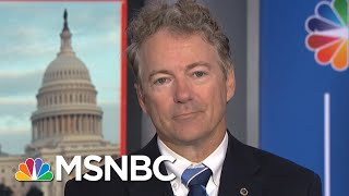Senator Rand Paul: Promoting Gina Haspel To CIA Dir Is A 'Terrible Mistake' | MSNBC