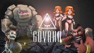 getlinkyoutube.com-Clash Of Clans - tutorial ITA: GoVaHo Th8 [Valkyrie]