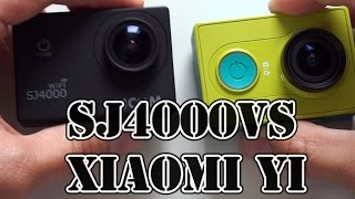 getlinkyoutube.com-Xiaomi YI vs SJ4000 Which camera is better? Side by side comarison