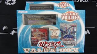 Konami's Great Value Box Yugioh Opening X2! 6 EPIC Booster Packs! HUGE Dracossask! & 70 Sleeves!