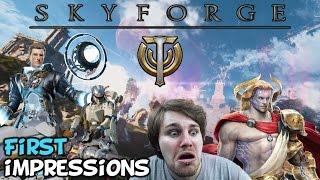 "getlinkyoutube.com-Skyforge Beta First Impressions ""Is It Worth Playing?"""