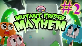 getlinkyoutube.com-The Amazing World of Gumball: mutant fridge mayhem GAMEPLAY #2