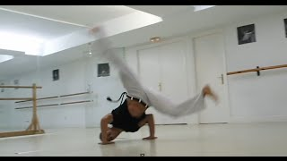 Capoeira - Tutorial Variación Queda de Rins ( ENGLISH SUBTITLES )