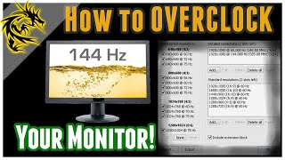OVERCLOCK Your monitor already! GREAT 4Games&General stuff! FREE&SAFE