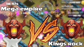getlinkyoutube.com-Clash of clans - KINGS ROCK vs. MEGA EMPIRE (Leaderboard wars)