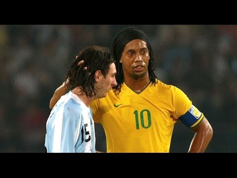 Ronaldinho & Messi ● The Movie ●  Two Legends - One