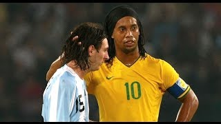 getlinkyoutube.com-Ronaldinho & Messi ● THE MOVIE ●  Two Legends - One Story || HD