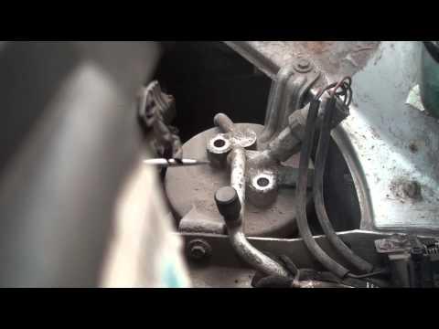 Замена уплотнений в соединениях кондиционера BMW E36