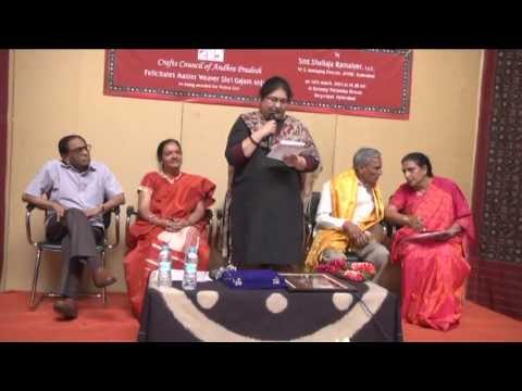 Gajam Anjaiah Crafts Council Felicitation Part 1
