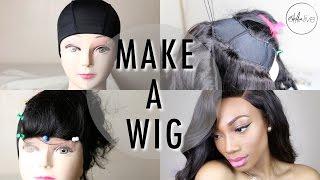 getlinkyoutube.com-HOW TO : MAKE A WIG | Step By Step Tutorial (SEWING A LACE CLOSURE & BUNDLES)