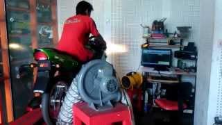 getlinkyoutube.com-Dyno Test @Polaris99 Ninja 150 RR Tune by YTS motor Jakarta Timur