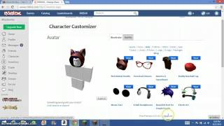 getlinkyoutube.com-How to make your roblox character look cool