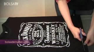 getlinkyoutube.com-Customização de camisetas de Rock