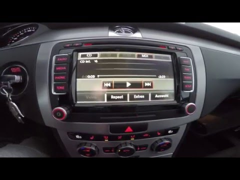 VW CC. замена на USB Аудио интерфейс. помоги себе сам 2