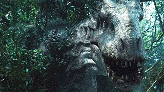 getlinkyoutube.com-Jurassic World Indominus Rex Camouflage Scene 1080p HD
