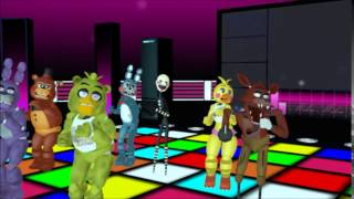 getlinkyoutube.com-(MMD x FNAF)Timber (Animatronic Version)