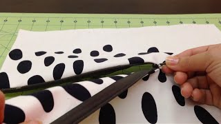 getlinkyoutube.com-8/ تركيب و خياطة السحاب المخفي how to sew invisible zipper