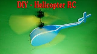 getlinkyoutube.com-[Tutorial] DIY - How To Make Helicopter RC Mini from minion flying